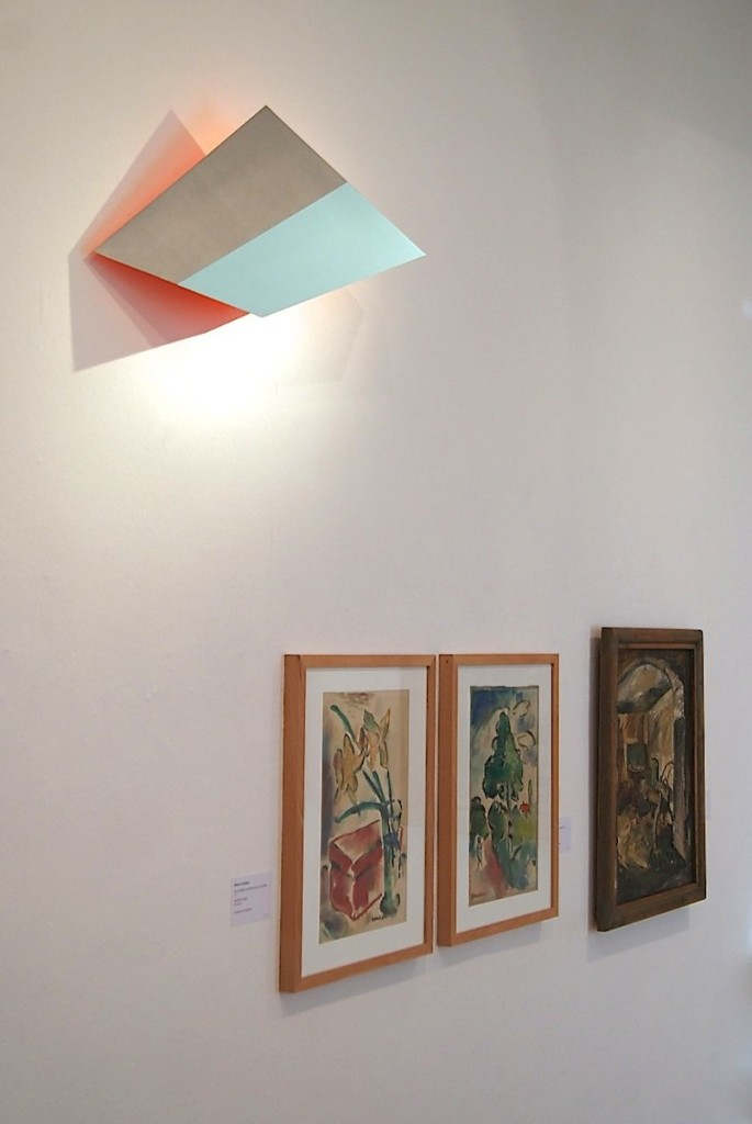 Wedge VII, 2014, 66x32x23 cm.