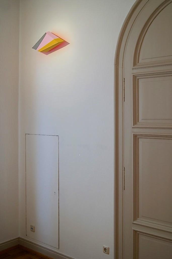 Wedge V, 2014, 57x22x15 cm.