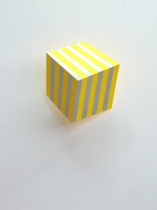 Bars III, 2011, 23x23x13 cm