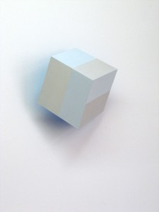 Bars IX (Inner Glow), 2014, 29x28x15 cm