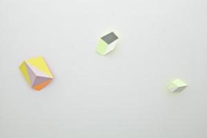 Carat I, 2012; Foton XVII, 2012; Inner Glow (Diagonal) V, 2012