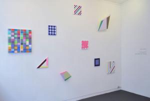 Installation view: Ditty Ketting, Marije Vermeulen (3x), Guido Nieuwendijk (2x), Henriëtte van 't Hoog (2x). Photos: Richard van der Aa.