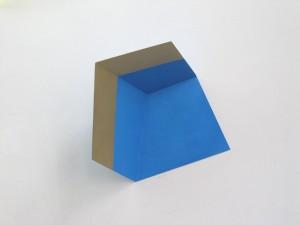 Golden Edge II, 2012, 25x21x14 cm