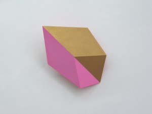 Inner Glow (diagonal) VI, 2013, 27x19x10 cm
