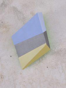 Wedge XI, 2017, 54x45x26 cm