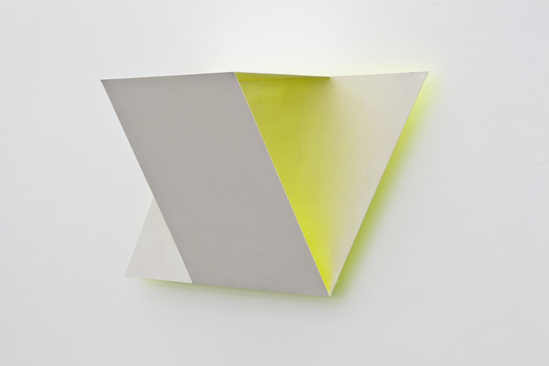 Xtra (Yellow), 2012, 55x26x18 cm
